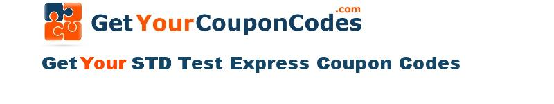 STD Test Express coupon codes online